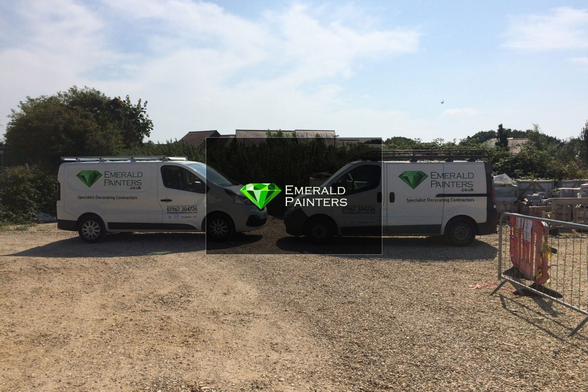 Emerald Painters Website by Lucent Dynamics Bournemouth