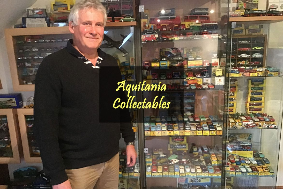 Aquitania Collectables Website by Lucent Dynamics Bournemouth