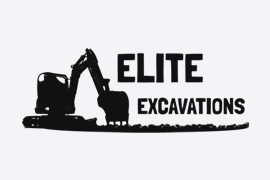 Elite Excavations Ltd Logo - Client of Lucent Dynamics Website Design in Bournemouth, Poole and Christchurch