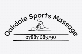 Oakdale Sports Massage Logo - Client of Lucent Dynamics Website Design in Bournemouth, Poole and Christchurch