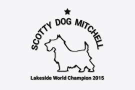 Scotty Dog Mitchell Logo - Client of Lucent Dynamics Website Design in Bournemouth, Poole and Christchurch