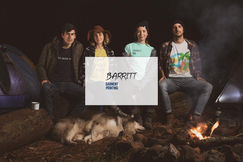 Barritt Garment Printing Website by Lucent Dynamics Bournemouth
