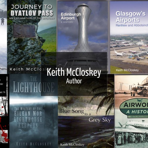 Keith McCloskey Author Website by Lucent Dynamics Bournemouth
