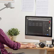 Lucent Dynamics Website Development Process - Design Stage