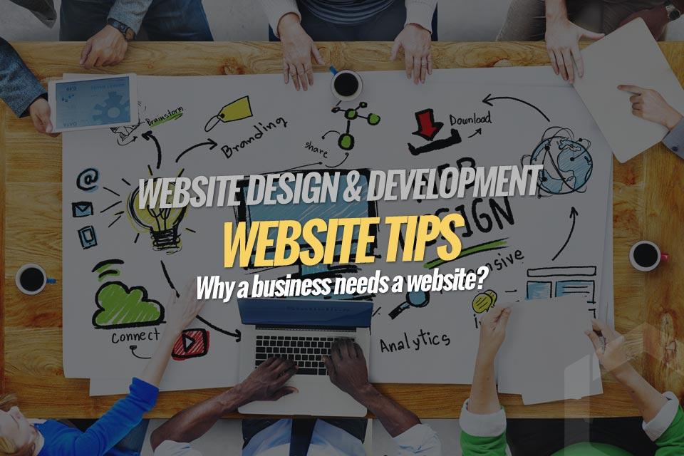 Why a Business Needs a Website? - Lucent Dynamics Blog