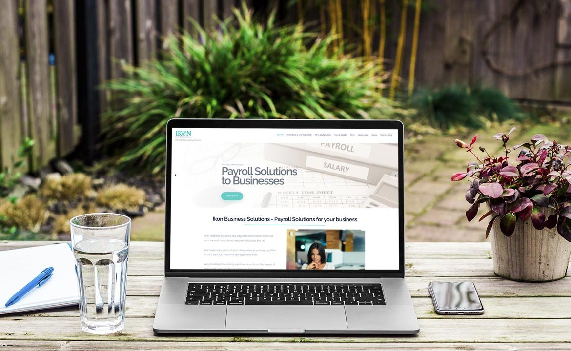 Ikon Business Solutions Website Design by Lucent Dynamics Bournemouth